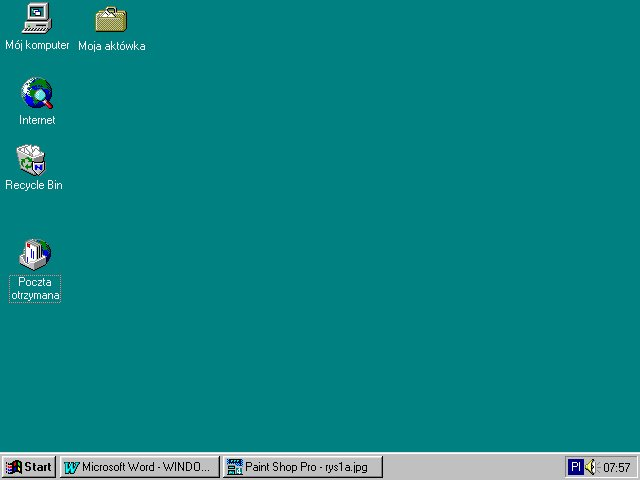 Windows 95 pierwszy z obs ug 32 bit w stare for Windows 95 startup sound